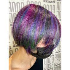 Rainbow hair Fantasy Hair Color, Rainbow Hair, Anna, Long Hair Styles, Beauty, Long Hairstyle, Long Haircuts, Long Hair Cuts, Beauty Illustration