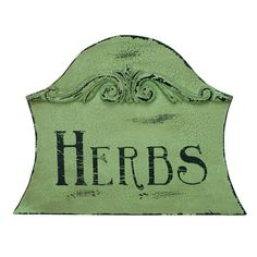 I pinned this Herbs Sign from the Primitives by Kathy event at Joss & Main!