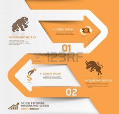 抽象的なビジネス証券取引所テンプレート イラスト ワークフロー レイアウト、図、番号のオプションを使用することができます、ステップ アップのオプション、web デザイン、バナーのテンプレート、インフォ グラフィック  イラスト・ベクター素材