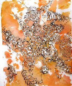 """Saatchi Art Artist Ula Einstein; Drawing, """"Replenish"""" #art"""