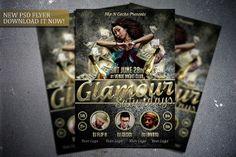 Glamour Saturdays flyer template. Get it here:  http://graphicriver.net/item/glamour-saturdays-flyer-template/7798697?WT.ac=portfolio&WT.z_author=FlipNGecko