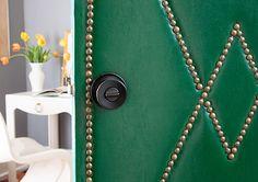Design*Sponge | DIY Project: Upholstered Door