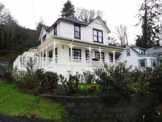 The city of Astoria, Oregon, has become so associated with The Goonies that there are tours of the town associated with the film. Astoria even has an Official Goonies Day (June 7), and the 25th anniversary of the movie was celebrated there. Mikey's house (above) The museum where his dad works. Head to Astoria to see them for yourself. Just don't go looking for the pirate ship, it was scrapped after filming.