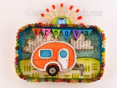 Altoids Tin Projects | Oops, I Craft My Pants: Retro Camper Altered Altoids Tin Lid