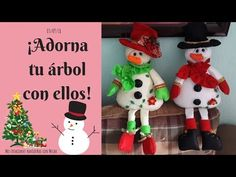 Viejo Pascuero - Yasna Pino - Casa Puchinni - YouTube Christmas Decorations, Christmas Ornaments, Holiday Decor, Christmas Sewing, Handmade Design, Crafts, Holidays, Winter, Handmade Christmas Decorations