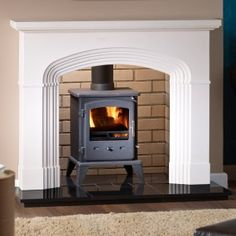 cool wood burning stove fire places - Google Search Stove Fireplace, Wood Burning, Home Appliances, Wood Stoves, Fire Places, Google Search, Image, Home Decor, House Appliances