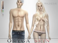 Completely new skintone (for face and body) for your sims! It works for all ages and genders, and comes in 5 different face shadings (+asian versions).  Found in TSR Category 'Sims 4 Skintones'