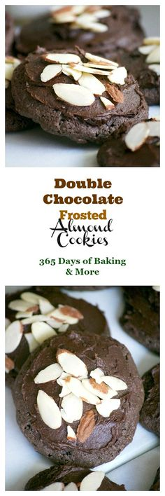 TheseDouble Chocolate Frosted Almond Cookies, made with Fair Trade products are sure to satisfy any chocolate craving. Almond paste, sliced almonds, double chocolate chips and chocolate frosting make these cookiesveryhard to resist! Make them and help support Fair Trade communities.