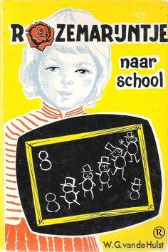 Rozemarijntje naar school, geschreven door W.G. van de Hulst. 24e druk. Uitgegeven door Callenbach - Nijkerk