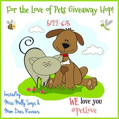 Miss Molly Says and Mom Does Reviews are happy to bring another great Pet Giveaway Hop to you! Camp Wags Pet Resort has a great giveaway for you!  Choose either $20 Petco GC or PayPal Cash!  ENTER TO WIN! One lucky reader will win their choice of $20 Petco GC or PayPal Cash! The giveaway is open WW, ages 18+, if the winner resides outside the US, they will receive PayPal Cash. The giveaway ends 6/5 at 1159p est Be sure to come back daily for more chances to win. Be sure to hop to all the…