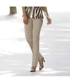 Stretch Bengaline Relaxed Skinny from Monroe and Main. www.monroeandmain.com