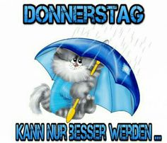 Donnerstag....