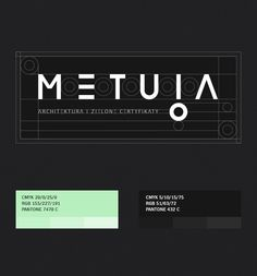 METUIA   branding, print on Behance