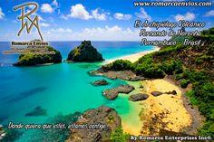 El Archipiélago Volcánico Fernando de Noronha, es unarchipiélagovolcánicobrasileño, perteneciente al estado dePernambucoen Brasil, un parque nacional marino de 26kilómetros conformado por 21 islas. Arenas blancas, aguas cálidas y transparentes, peces de colores y delfines, tortugas marinas, algas y esponjas pueden ser adjetivos de las 16 playas que conforman el archipiélago y lo hacen un lugar de ensueño.