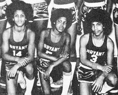 Already a star:Prince (far right) joined his cousin's  band called Grand Central while they were attending Minneapolis's Central High School