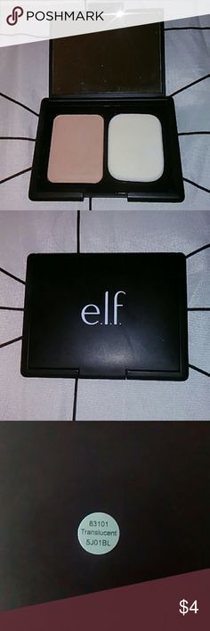 Free if bundle: comment for offer Barely touched, never used original sponge. Never swatched with fingers.  Great to bundle with for added savings!  With all my listings comes a free gift from my home state of Hawai'i! ELF Makeup Face Powder