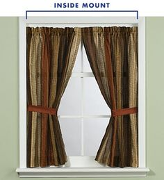 8 best curtains inside window frame images blinds border tiles rh pinterest com curtains in bay windows curtains in corner windows