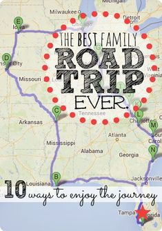 The Best Family Road Trip Ever. (10 ways to truly enjoy the journey)  Great tips and awesome insight from a mom who just finished a 29 day, 4,000 mile road trip with her family.  Don't even think about planning a road trip without reading this post first! #familyroadtripideas