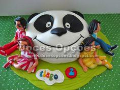 Doces Opções: Panda e os Caricas para o aniversário do Tiago
