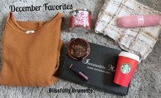 December Favorites: http://blissfullybrunette.com/?p=5429