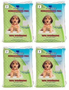 Advance Puppy / Dog Training Pads, Set of Four - 7 pads per bag (28 total pads) ** Continue to the product at the image link.