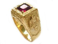 aneis de Formatura Direito Masculinos e Femininos 2 Gold Rings, Gemstone Rings, Class Ring, Heart Ring, Rose Gold, Jewels, Crassula Ovata, Sheik, Gull