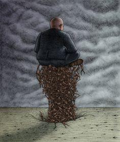 Lowbrow Pop Surrealism giclee print by Pete Gorski by petegorski