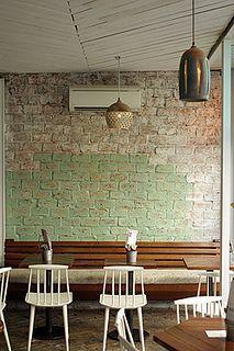 love this wall    le mary celeste by David Lebovitz, via Flickr