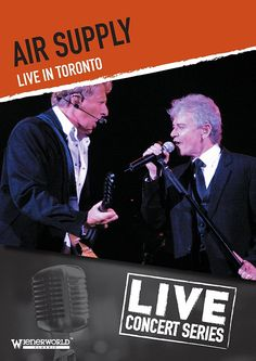 AIR SUPPLY LIVE IN TORONTO DVD 2014