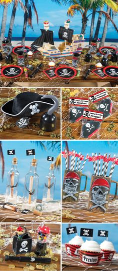 Arrrr, Matey. We thinks you've found the place for pirate party supplies, Well walk the plank and host the best, darn sword-flipping, eye-patch wearing,root beer  drinking good time at your next #PirateParty with these pirate decorations and activities.