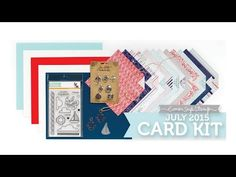 Simon Says Stamp July 2015 Card kit and card Inspiration