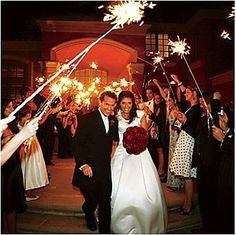 Wedding sparklers are commonly seen in wedding events. They are just full of fun activities. People enjoy the stunning view of the ignited sticks. Please visit our web site and select Sparklers according to your kneeds.
