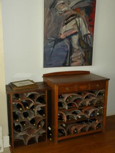Did you get a bottle of wine for V-Day? Here are a bunch or beautiful, creative wine rack ideas!