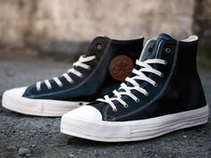 All Star Premium Black Leather