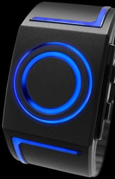 TokyoFlash Kisai Watch With Tron Style Effects
