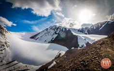 Urumqi No. 1 Glacier in Chinas western Xinjiang region [1800 x 1132] [OC] #reddit