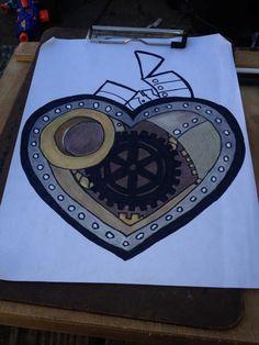 take five steampunk heart