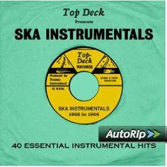 Top Deck Presents: Ska Instrumentals #christmas #gift #ideas #present #stocking #santa #music #Island #records #reggae