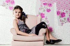 Miss Butterfly 2@12 ans / yrs  Tunique / Tunic H76-A  Leggings H60   COLLECTION PRINTEMPS / ÉTÉ 2015  2015 SPRING / SUMMER COLLECTION  http://deuxpardeux.com/lookbook/#/look/miss-butterfly/