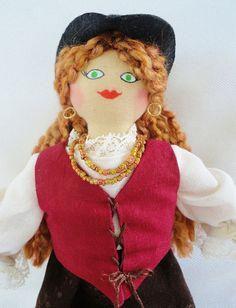 Pirate Girl Doll  by Joelle's Dolls by JoellesDolls on Etsy, $35.00