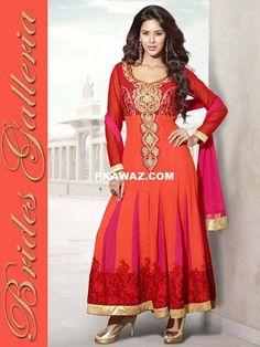 Anarkali Dresses 2014 Faux Chiffon Collection by Brides Galleria on Pakistan ki awaz  http://www.pkawaz.com/social-gallery/faux-chiffon-anarkali-dresses-2014-by-brides-galleria-1