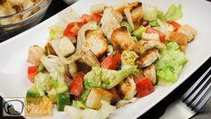 Cobb Salad, Potato Salad, Hamburger, Food And Drink, Potatoes, Yummy Food, Ethnic Recipes, Akira, Foods