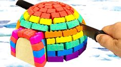 Kinetic Sand Rainbow Hut Bad Baby Surprise Toys Kids Learn Colors For Ch...