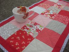 Table runner modern country Mothers Day gift by OliveStreetStudio, $35.00