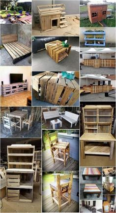 Cheap and Easy to Make Projects with Old Wooden Pallets: If you have a small conception in your mind that wood pallet projects are much costly to use in the home furniture products. Wooden Pallet Projects, Wooden Pallet Furniture, Pallet Crafts, Wooden Pallets, Pallet Wood, Pallet Ideas, Diy Crafts, Pallet Art, Refurbished Furniture