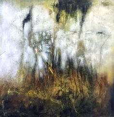 6 Deep - by Jeane Myers mixed media on panel