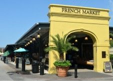 est 1791 began as a Native American trading post  French Market:  Shops of the Colonnade  Shops of the Upper Pontalba  Flea Market