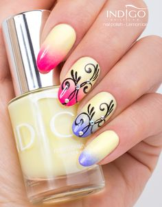 Indigo Nails Laboratory - Polish - Find more Inspiration at www.indigo-nails.com #Polish #Nails #ombre