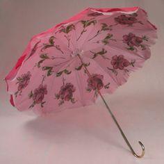 rose colour and featured within under pinnings antique parasol Cute Umbrellas, Umbrellas Parasols, Vintage Umbrella, Brollies, Under My Umbrella, Singing In The Rain, No Rain, April Showers, Fire Emblem