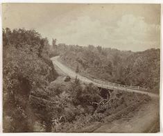 Bergweg bij Tanah Wangi/Malang 1880-1888.